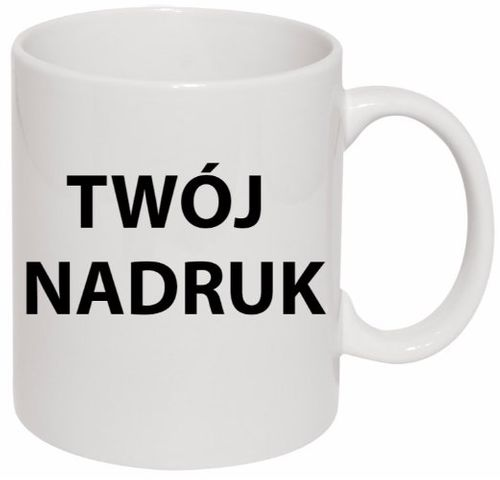 KUBEK FOTO KUBKI Z WŁASNYM NADRUKIEM LOGO ZDJĘCIEM na Arena.pl