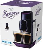 2 SZKLANKI + Ekspres Philips TWIST Senseo HD 7870