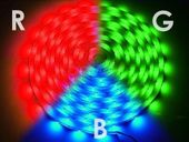 Taśma LED 12V RGB 150/5050 zalewana