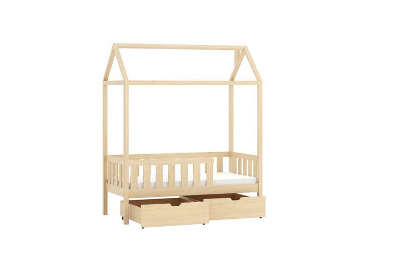łóżko Parterowe Domi 70x140 Domek