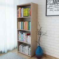 Regał na książki, dąb, 60 x 31 x 155 cm