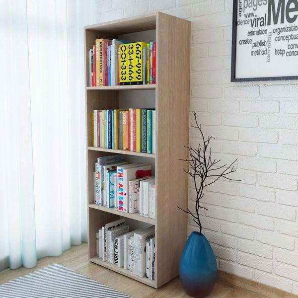Regał na książki, dąb, 60 x 31 x 155 cm na Arena.pl
