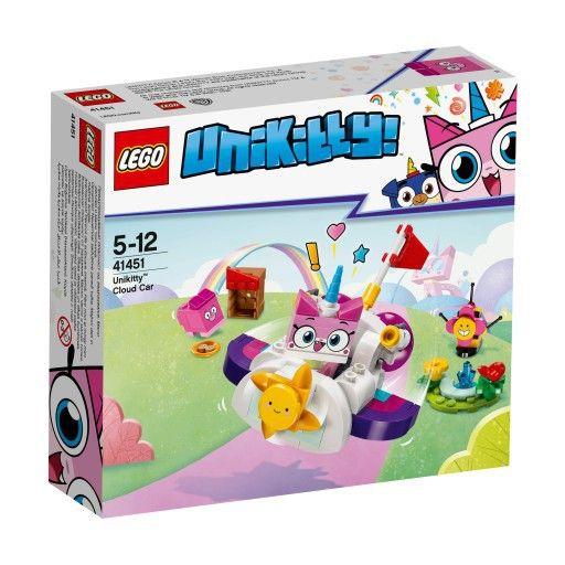 LEGO UNIKITTY 41451 Chmurkowy pojazd Kici Rożek zdjęcie 1