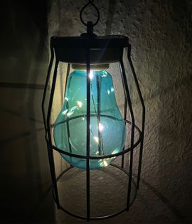 Lampa solarna wisząca 5LED