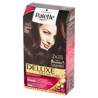 Palette Deluxe Oil-Care Color Farba Do Włosów Trwale Koloryzująca Z Mikroolejkami 760 Olśniewający Brąz