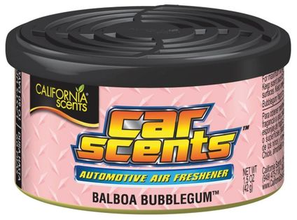 Zapach puszka Bubblegum California Car Scents