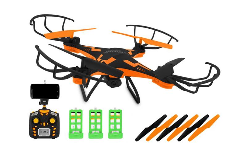 DRON OVERMAX X Bee Drone 3.1 WiFi KAMERA FPV LED zdjęcie 1