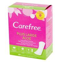 Carefree Plus Large Aloe Wkładki higieniczne 1op.-46szt