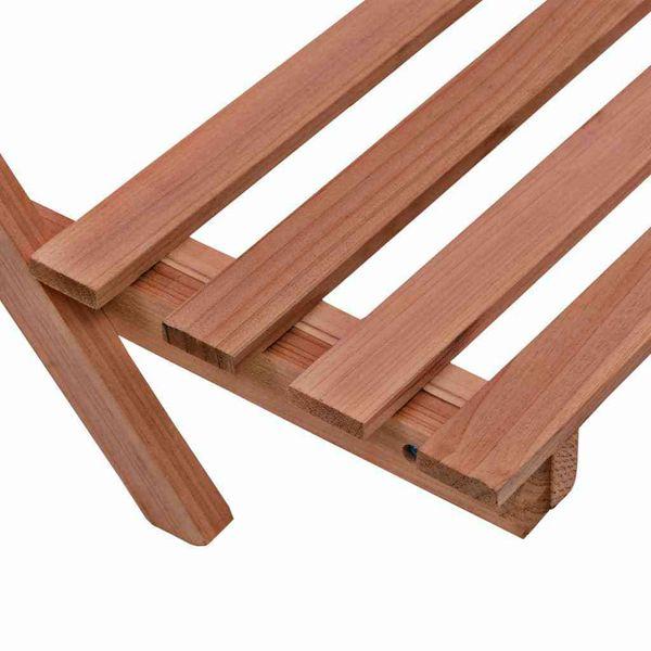 3-Piętrowy Regał Na Rośliny Z Drewna Cedrowego, 48 X 45 X 40 Cm zdjęcie 5