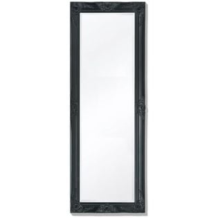 Lustro Ścienne W Stylu Barokowym, 140X50 Cm, Czarne