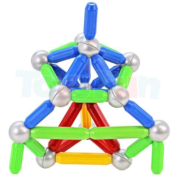 Ultimar: Klocki magnetyczne dla najmłodszych: 36 elementów zdjęcie 2