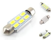 ŻARÓWKA LED SV8.5, C3W, C5W, C10W, C21W rurkowa 12V CANBUS 39mm 240lm