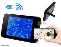 Stacja Pogodowa z kamerą Wi-Fi Full HD (TRYB NOCNY)