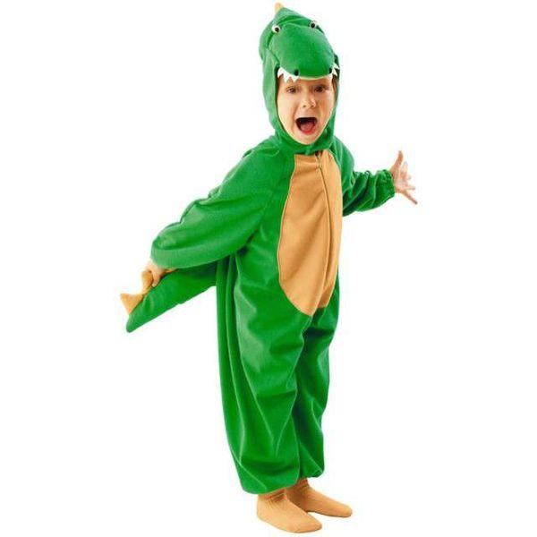 strój KROKODYL krokodylek smok PRZEBRANIE 122/128 zdjęcie 1