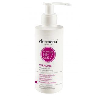 Kremowy żel do mycia twarzy dermena® VITALINE