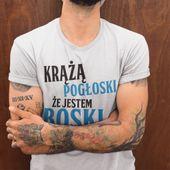 Koszulka T-shirt super wzory na dzień chłopaka HIT