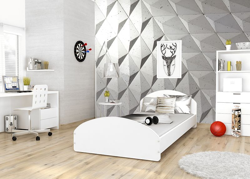 łóżko Młodzieżowe Cross Biel 200x90