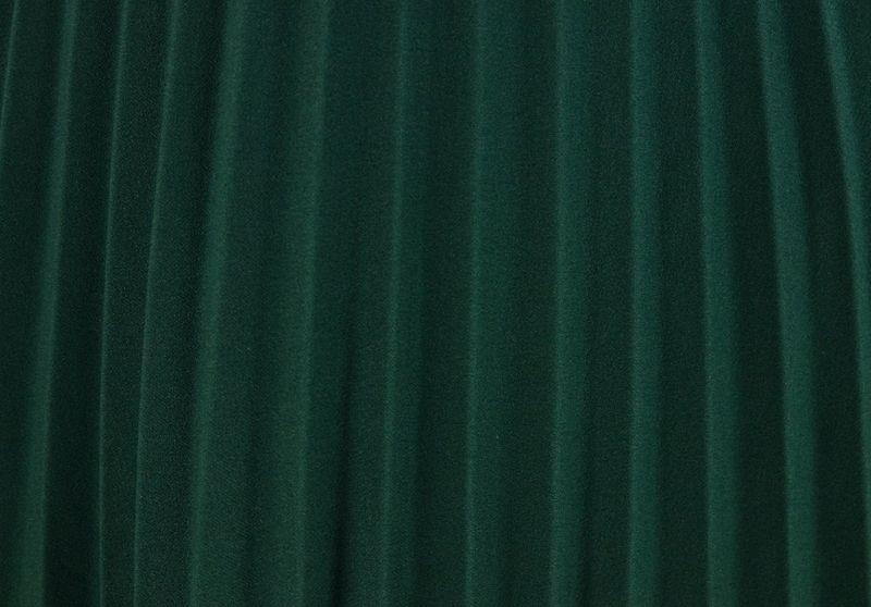 377c9085 Włoska Spódnica z Plisami z Gumką w Pasie - Zielona Rozmiar - One size