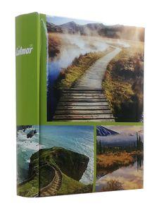 ALBUM, albumy na zdjęcia szyty 200 zdjęć 10x15 cm opis 1140 zielony