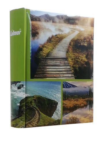 ALBUM, albumy na zdjęcia szyty 200 zdjęć 10x15 cm opis 1140 zielony na Arena.pl