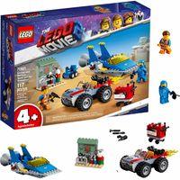 LEGO Movie Warsztat Emmeta i Benka 70821