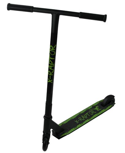 HULAJNOGA WYCZYNOWA X-RAPTOR ABEC-9 100kg 100mm T-BAR Kolor: Zielony na Arena.pl