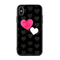 Etui Hearts iPhone 6/6S wzór 5 (hearts black)