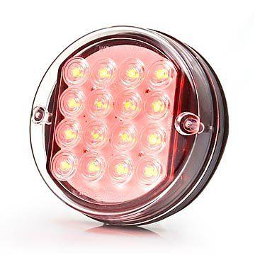 Lampa LED tylna hamowania 2 funkcje 12V (166) na Arena.pl