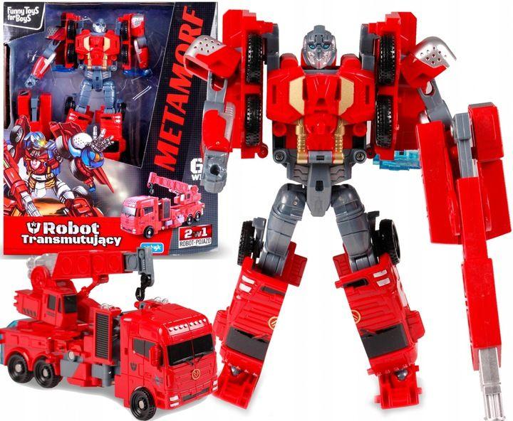 TRANSFORMER Robot DŹWIG Auto 2w1 ARTYK zdjęcie 1