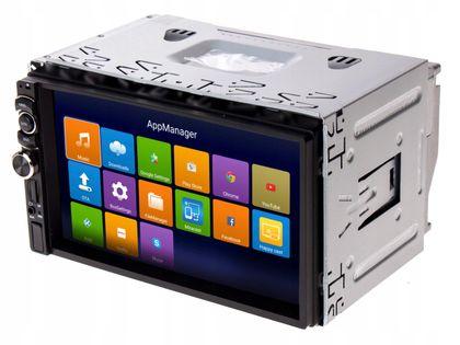 Radio samochodowe 2DIN BT USB SD + kamera cofania
