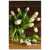 OBRAZ DRUKOWANY  Kremowe tulipany 80x120
