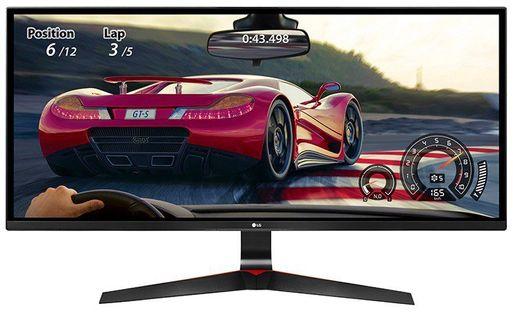 """Monitor Lg 29"""" 2560 X 1080 29Um69G-B Czarno-Czerwony"""