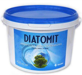 Ziemia okrzemkowa amorficzna diatomit 1 kg wiaderko - perma-guard