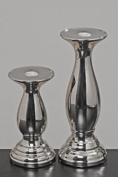 Klasyczny świecznik wysokość 20 cm zdjęcie 4