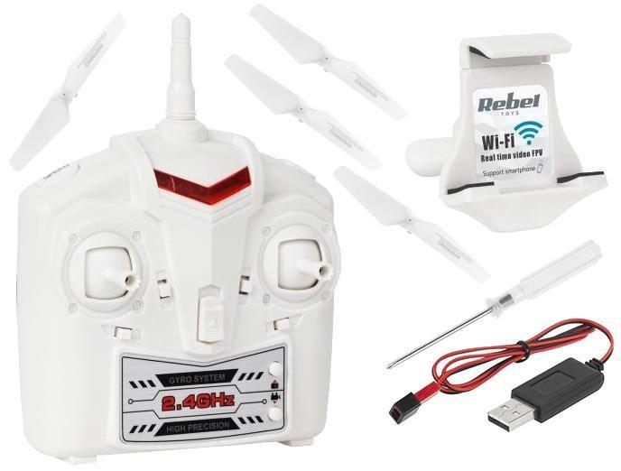 Dron Rebel DOVE WIFI kamera aplikacja zdjęcie 3