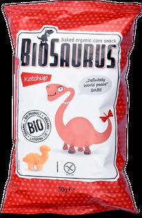 McLloyd's BioSaurus Chrupki bezglutenowe ketchupowe BIO - 50 g