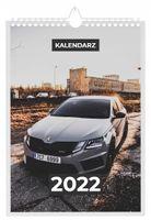 Kalendarz 2022 SKODA 13 stron A4