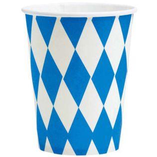 """Kubeczki papierowe """"Oktoberfest"""", AMSCAN, 266 ml, 8 szt"""