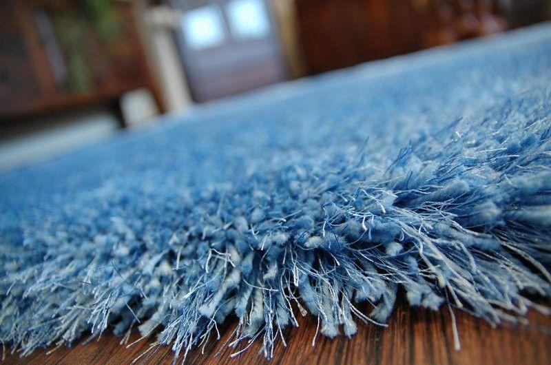 Dywan SHAGGY MACHO H8 niebieski 160x220 cm niebieski na Arena.pl