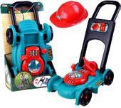 Zabawkowa Kosiarka dla dzieci do ogrodu + Kask Kanister U251
