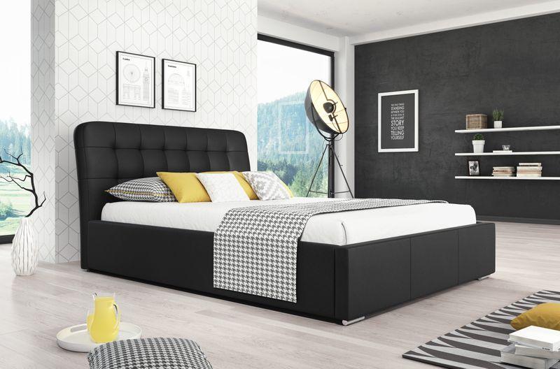 Łóżko z pojemnikiem na pościel 180x200 AGA HIT! zdjęcie 1