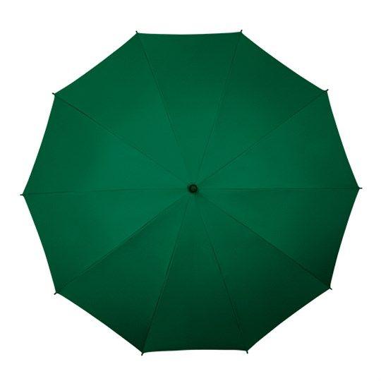 Bardzo duża, wytrzymała parasolka w kolorze zielonym zdjęcie 2