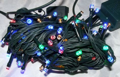 Lampki choinkowe 100 lampek multikolor
