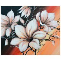 OBRAZ DRUKOWANY  Magnolia o zachodzie słońca 60x50