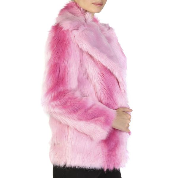 Guess damska kurtka/futerko zimowe różowy M zdjęcie 3