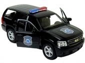 2008 CHEVROLET Tahoe POLICE Samochód Welly 1:34