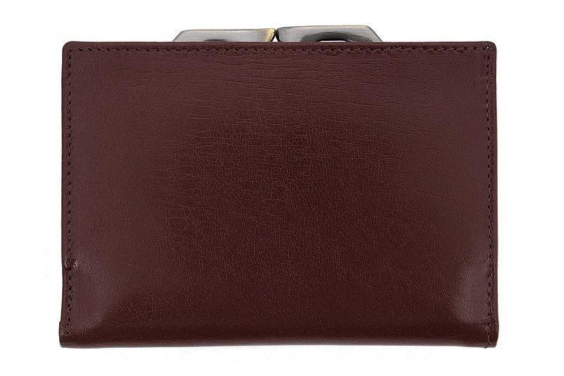 Skórzany portfel damski Orsatti D-02B w kolorze brązowym zdjęcie 2