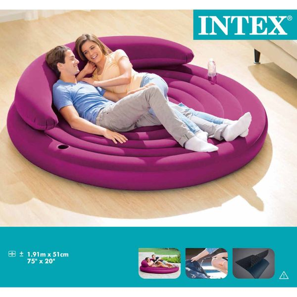 Intex Materac dmuchany Ultra Daybed Lunge, 68881NP GXP-680211 zdjęcie 5