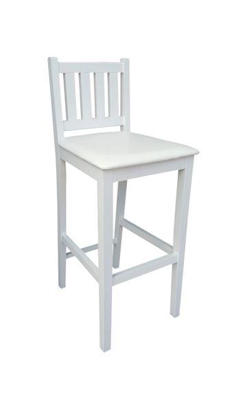 Biały Hoker H1 Krzesło Barowe, kuchenne od Producenta zdjęcie 2