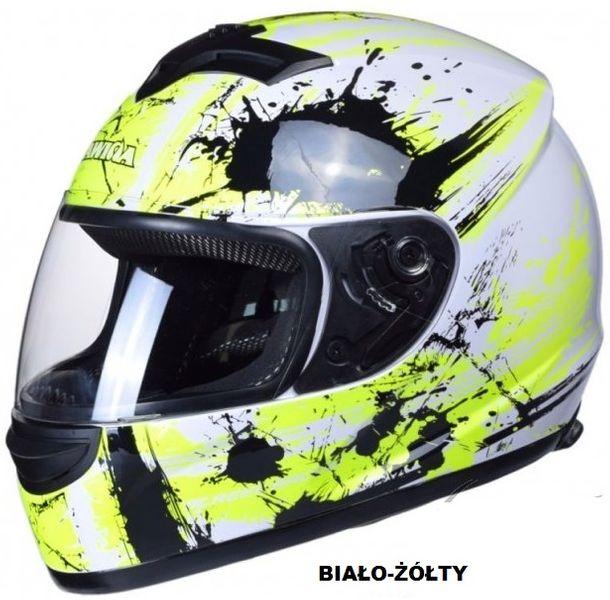 KASK MOTOCYKLOWY ZAMKNIĘTY INTEGRALNY 10 kolorów SKUTER MOTOCYKL NOWY zdjęcie 3